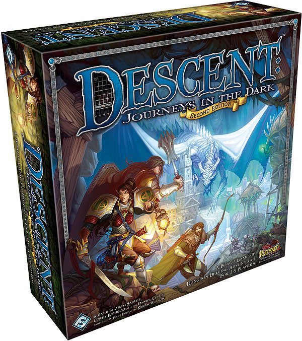 DESCENT JOURNEYS IN THE DARK 2ND EDITION