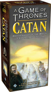 A GAME OF THRONES CATAN: BROTHERHOOD OF THE WATCH 5-6 PLAYER EXTENSION.