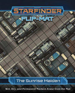 STARFINDER RPG: FLIP-MAT - STARSHIP THE SUNRISE MAIDEN