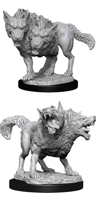 DUNGEONS AND DRAGONS: NOLZUR'S MARVELOUS UNPAINTED MINIATURES -W11-DEATH DOG