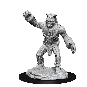 DUNGEONS AND DRAGONS: NOLZUR'S MARVELOUS UNPAINTED MINIATURES -W11-STONE GOLEM