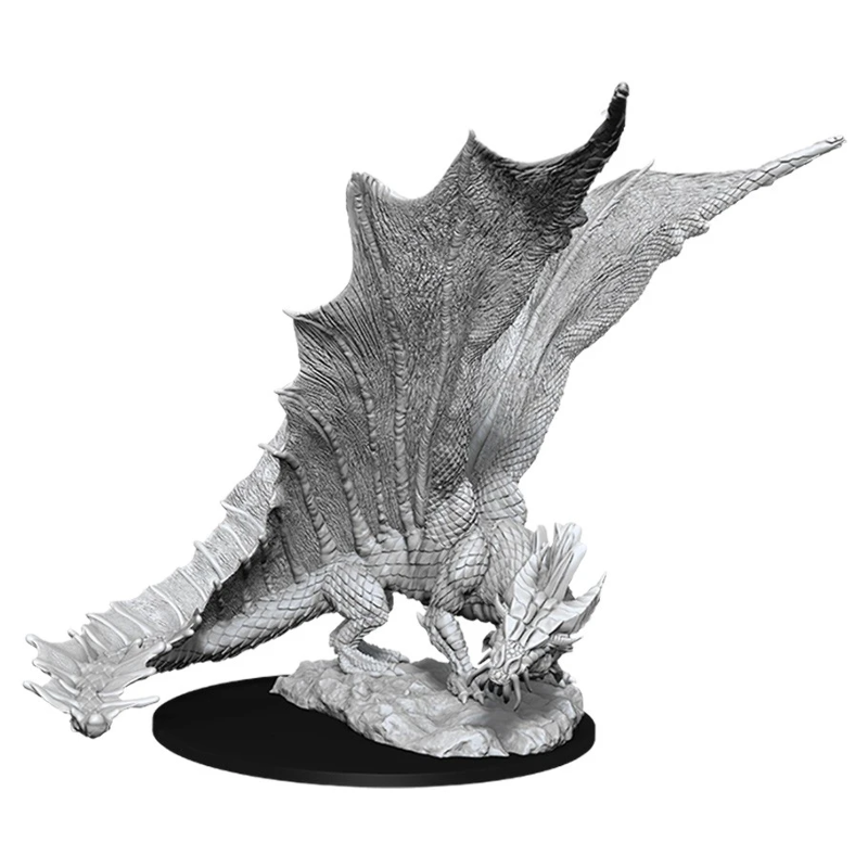 DUNGEONS AND DRAGONS: NOLZUR'S MARVELOUS UNPAINTED MINIATURES -W11-YOUNG GOLD DRAGON