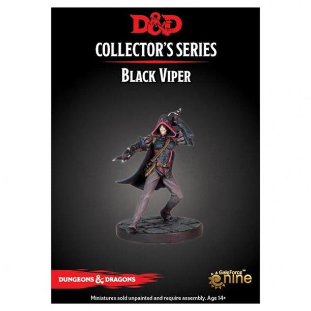 DUNGEONS AND DRAGONS: COLLECTOR SERIES - DRAGON HEIST - BLACK VIPER