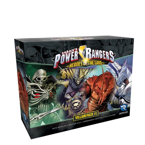 Power Rangers - Heroes of the Grid: Villian Pack #1
