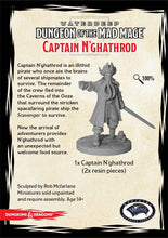 Load image into Gallery viewer, DUNGEONS AND DRAGONS: COLLECTOR SERIES - DUNGEON OF THE MAD MAGE - CAPTAIN N'GHATHROD