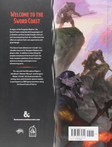 DUNGEONS AND DRAGONS 5E: SWORD COAST ADVENTURER'S GUIDE.