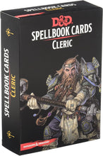 Load image into Gallery viewer, DUNGEONS AND DRAGONS SPELLBOOK CARDS CLERIC