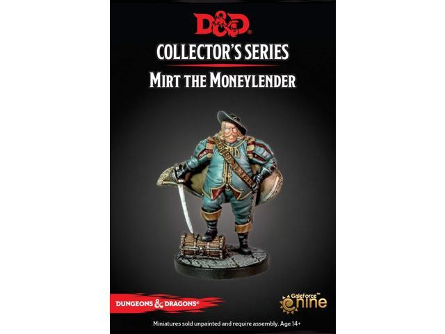 DUNGEONS AND DRAGONS: COLLECTOR SERIES - DRAGON HEIST - MIRT THE MONEYLENDER
