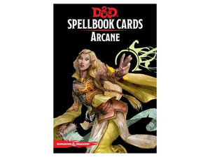 DUNGEONS AND DRAGONS SPELLBOOK CARDS ARCANE
