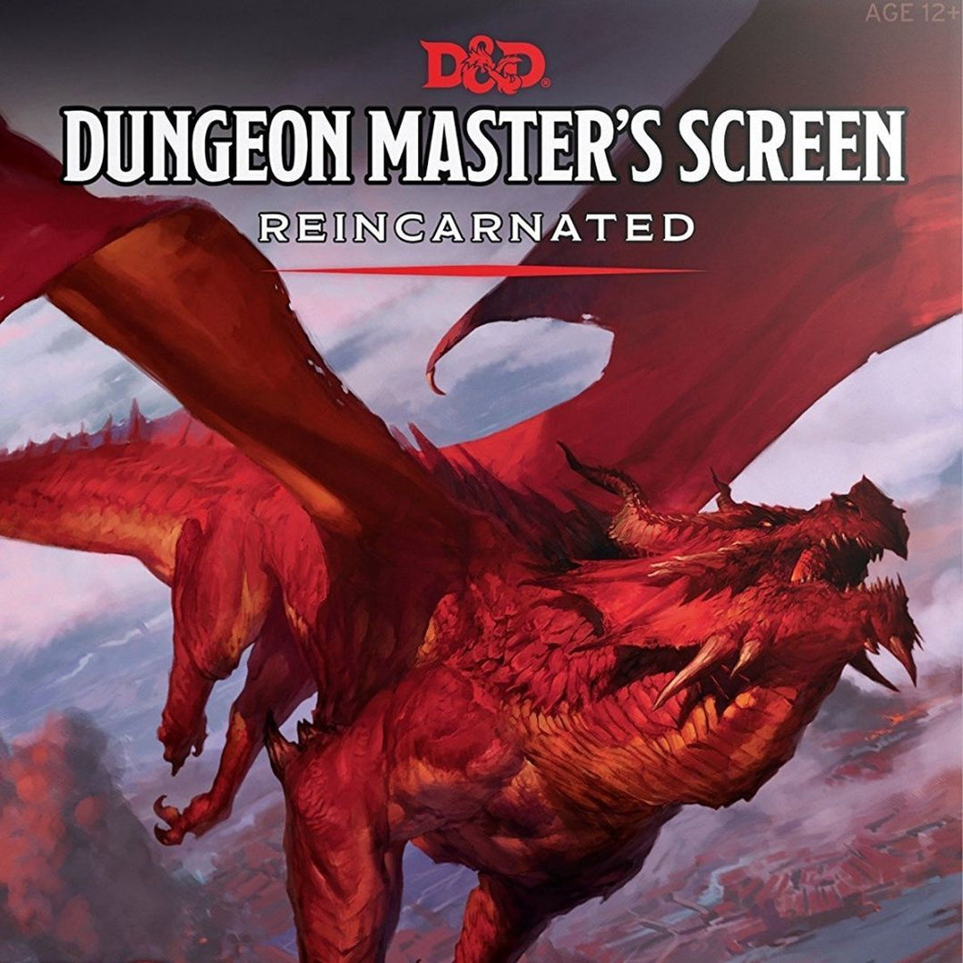 DUNGEONS AND DRAGONS 5E - DUNGEON MASTER'S SCREEN REINCARNATED