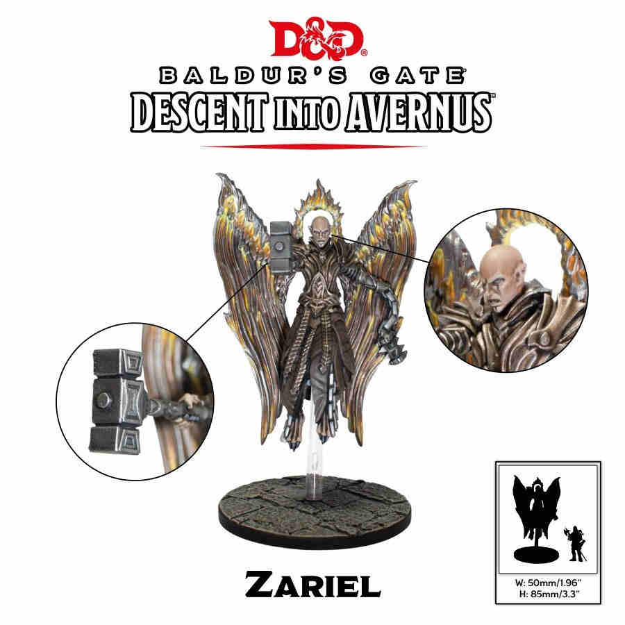 DUNGEONS AND DRAGONS: BALDUR'S GATE - DESCENT INTO AVERNUS - ZARIEL