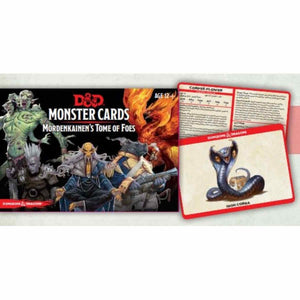DUNGEONS AND DRAGONS MONSTER CARDS MORDENKAINEN'S TOME OF FOES