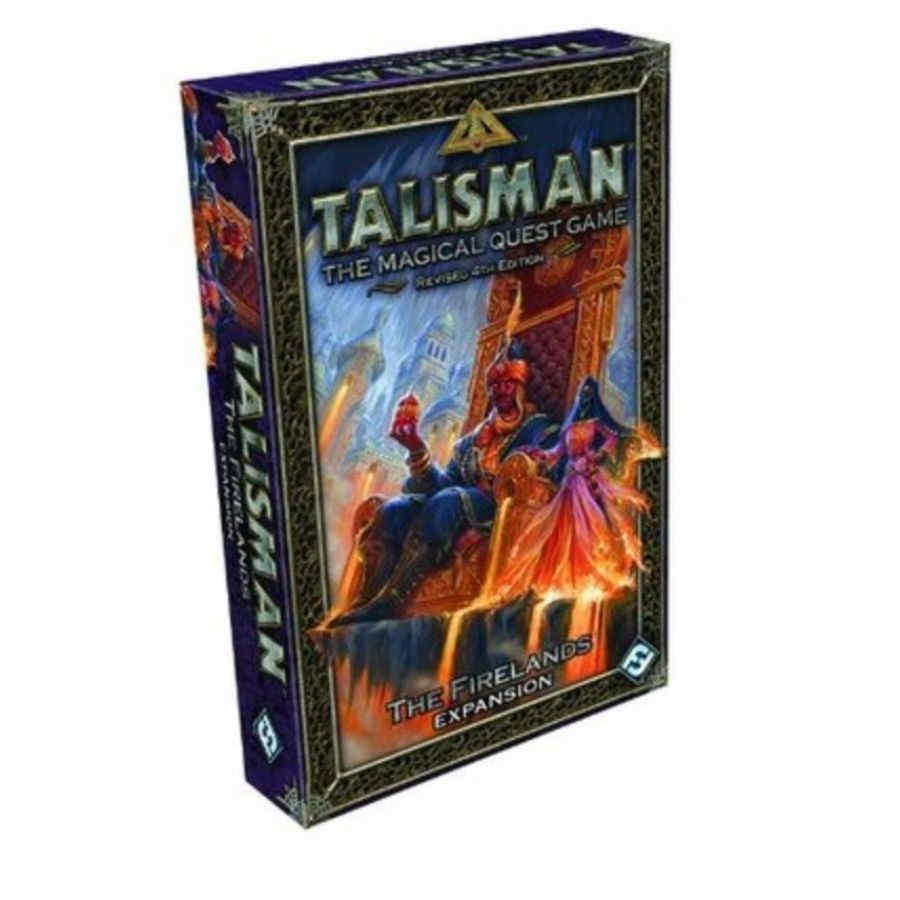 TALISMAN: REVISED 4TH EDITION - THE FIRELANDS EXPANSION