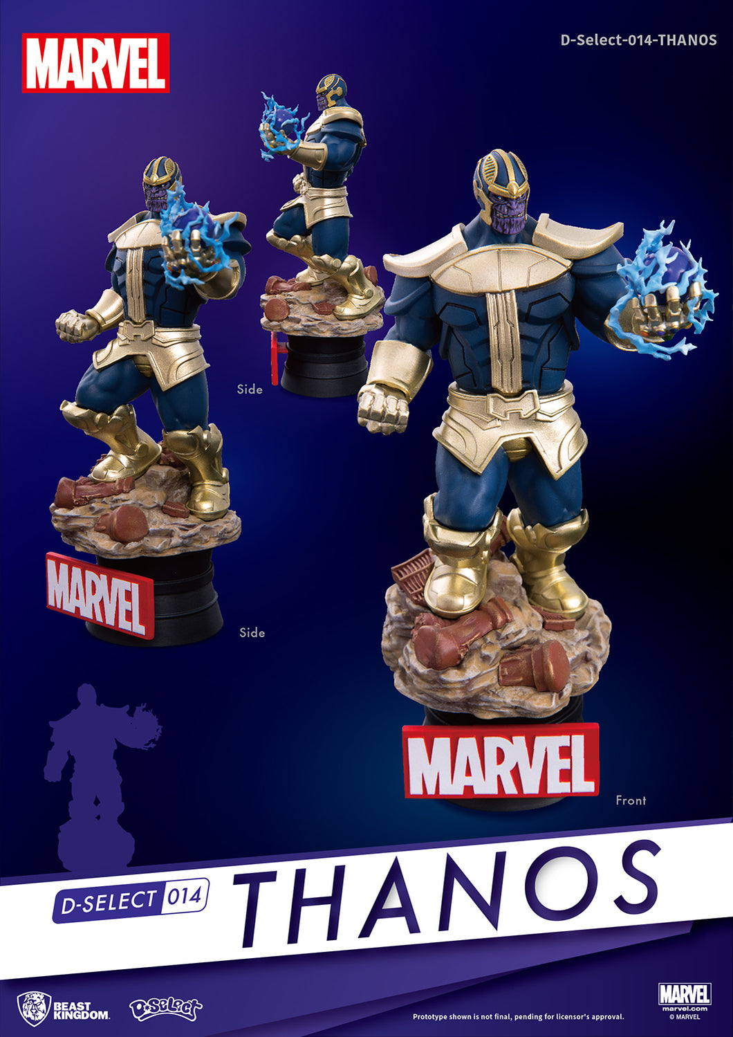 A3 INFINITY WAR THANOS DS-014 D-STAGE SERIES PX 6IN