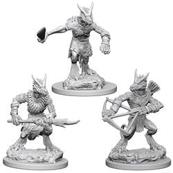 DUNGEONS AND DRAGONS: NOLZUR'S MARVELOUS UNPAINTED MINIATURES -W1-KOBOLDS