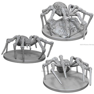 DUNGEONS AND DRAGONS: NOLZUR'S MARVELOUS UNPAINTED MINIATURES -W10-SPIDERS