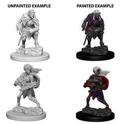 DUNGEONS AND DRAGONS: NOLZUR'S MARVELOUS UNPAINTED MINIATURES -W4-DROW