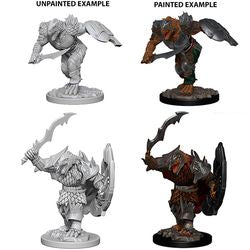 DUNGEONS AND DRAGONS: NOLZUR'S MARVELOUS UNPAINTED MINIATURES -W4-MALE DRAGONBORN FIGHTER