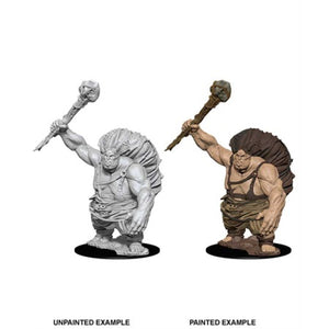 DUNGEONS AND DRAGONS: NOLZUR'S MARVELOUS UNPAINTED MINIATURES -W8-HILLGIANT