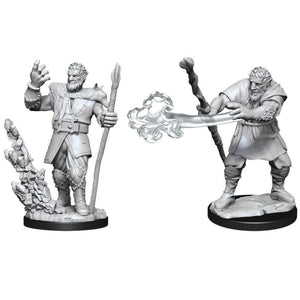 DUNGEONS AND DRAGONS: NOLZUR'S MARVELOUS UNPAINTED MINIATURES -W11-MALE FIRBOLG DRUID