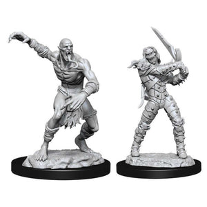 DUNGEONS AND DRAGONS: NOLZUR'S MARVELOUS UNPAINTED MINIATURES -W11-WIGHT AND GHAST