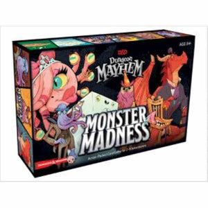 DUNGEONS AND DRAGONS: DUNGEON MAYHEM: MONSTER MADNESS
