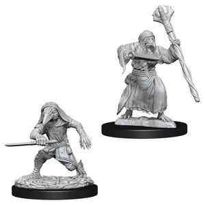 DUNGEONS AND DRAGONS: NOLZUR'S MARVELOUS UNPAINTED MINIATURES -W10-KENKU ADVENTURERS