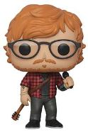 POP! ROCKS ED SHEERAN VINYL FIGURE FUNKO