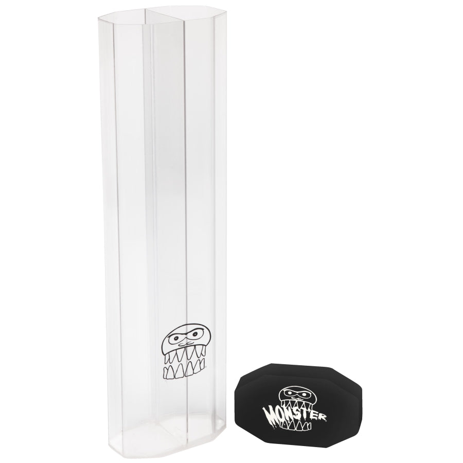 MONSTER PRISM DUAL PLAYMAT TUBE - CLEAR WITH BLACK CAPS