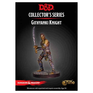 DUNGEONS AND DRAGONS: COLLECTOR SERIES - DUNGEON OF THE MAD MAGE - GITHYANKI WARRIOR