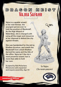 DUNGEONS AND DRAGONS: COLLECTOR SERIES - DRAGON HEIST - VAJRA SAFAHR