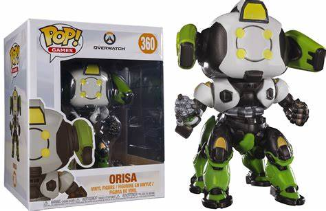 POP! OVERWATCH ORISA VINYL FIGURE GAMESTOP EXCLUSIVE FUNKO