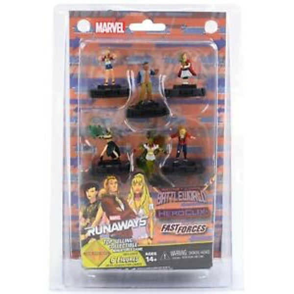 Marvel HeroClix: Runaways Fast Forces Secret Wars: Battleworld