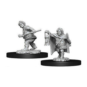 DUNGEONS AND DRAGONS: NOLZUR'S MARVELOUS UNPAINTED MINIATURES -W11-MALE HALFLING ROGUE
