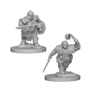DUNGEONS AND DRAGONS: NOLZUR'S MARVELOUS UNPAINTED MINIATURES -W2-FEMALE DWARF FIGHTER
