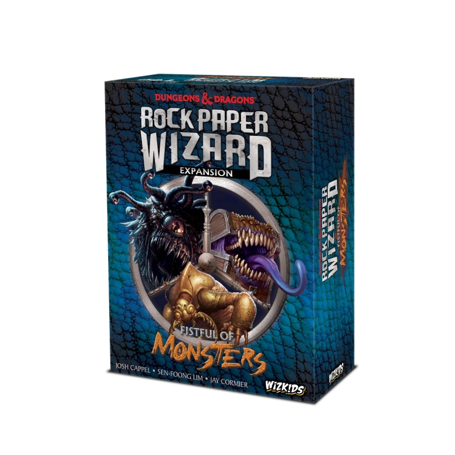 DUNGEONS AND DRAGONS: ROCK PAPER WIZARD - FISTFUL OF MONSTERS EXPANSION
