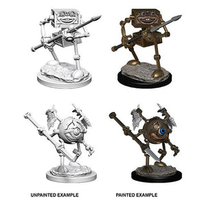 DUNGEONS AND DRAGONS: NOLZUR'S MARVELOUS UNPAINTED MINIATURES -W6-MONODRONE AND DUODRONE
