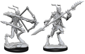 DUNGEONS AND DRAGONS: NOLZUR'S MARVELOUS UNPAINTED MINIATURES -W5-THRI-KREEN