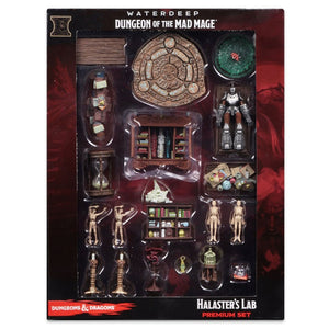 DUNGEONS AND DRAGONS: ICONS OF THE REALMS MINIATURES #11 - HALASTER'S LAB CASE INCENTIVE