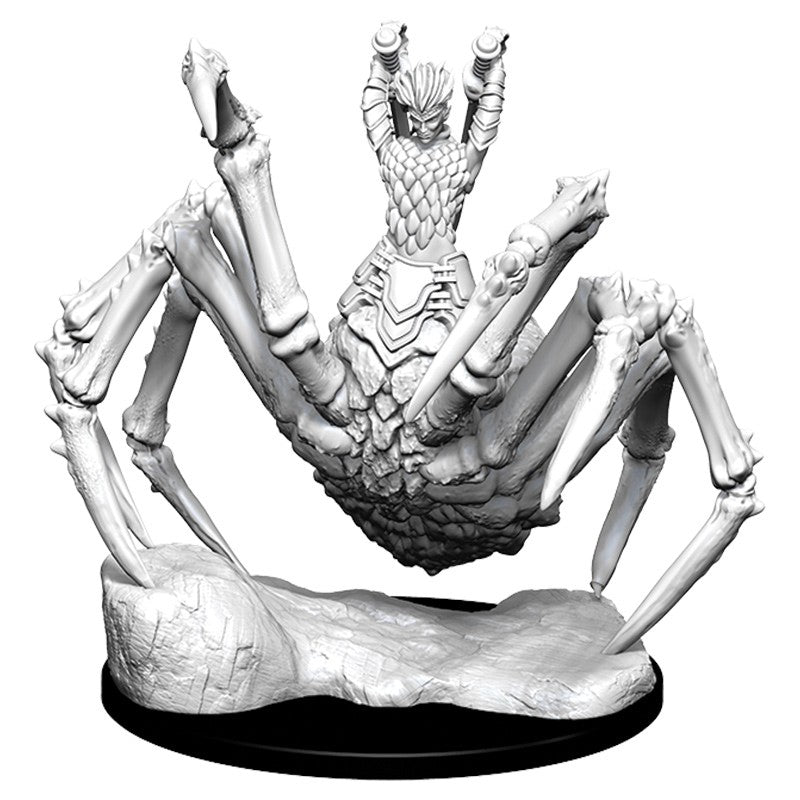 DUNGEONS AND DRAGONS: NOLZUR'S MARVELOUS UNPAINTED MINIATURES -W10-DRIDER