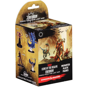 DUNGEONS AND DRAGONS: ICONS OF THE REALMS MINIATURES: EBERRON RISING FROM THE LAST WAR BOOSTER PACK