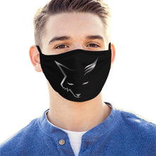 Load image into Gallery viewer, Silver Fox Face Masks (Set of 3)