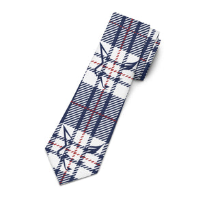 Silver Fox Signature Plaid Necktie