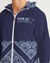 Load image into Gallery viewer, Silver Fox Royalty Windbreaker