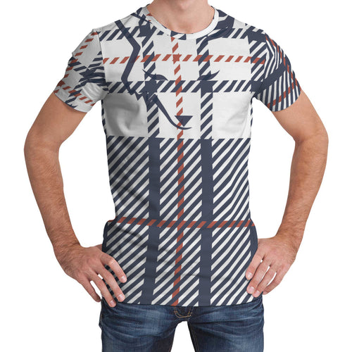 Silver Fox Signature Plaid T-Shirt
