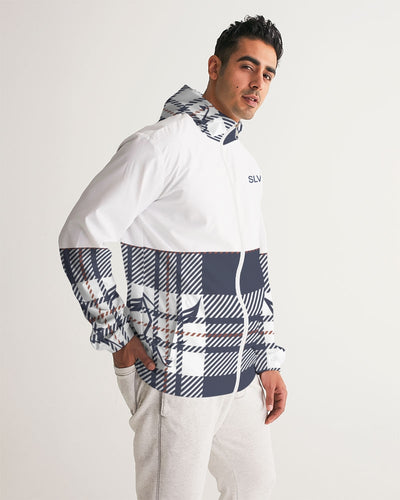 Silver Fox Signature Plaid Windbreaker
