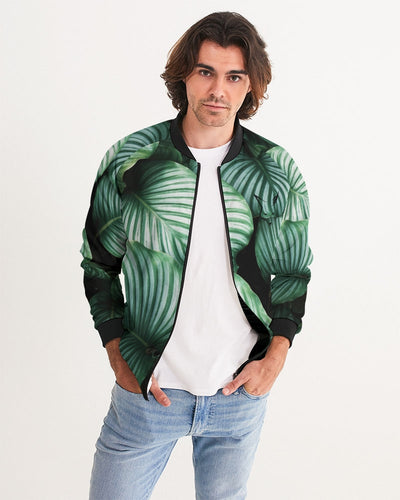 Silver Fox Cuban Nights Bomber Jacket - Black Trim