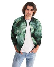 Load image into Gallery viewer, Silver Fox Cuban Nights Bomber Jacket - Black Trim