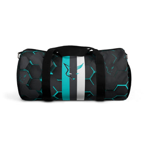 Silver Fox Blue Cyber Duffel Bag