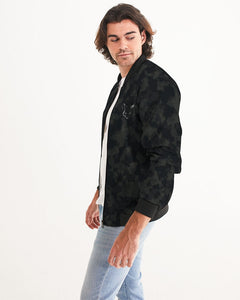 Silver Fox Dark Camo Bomber Jacket